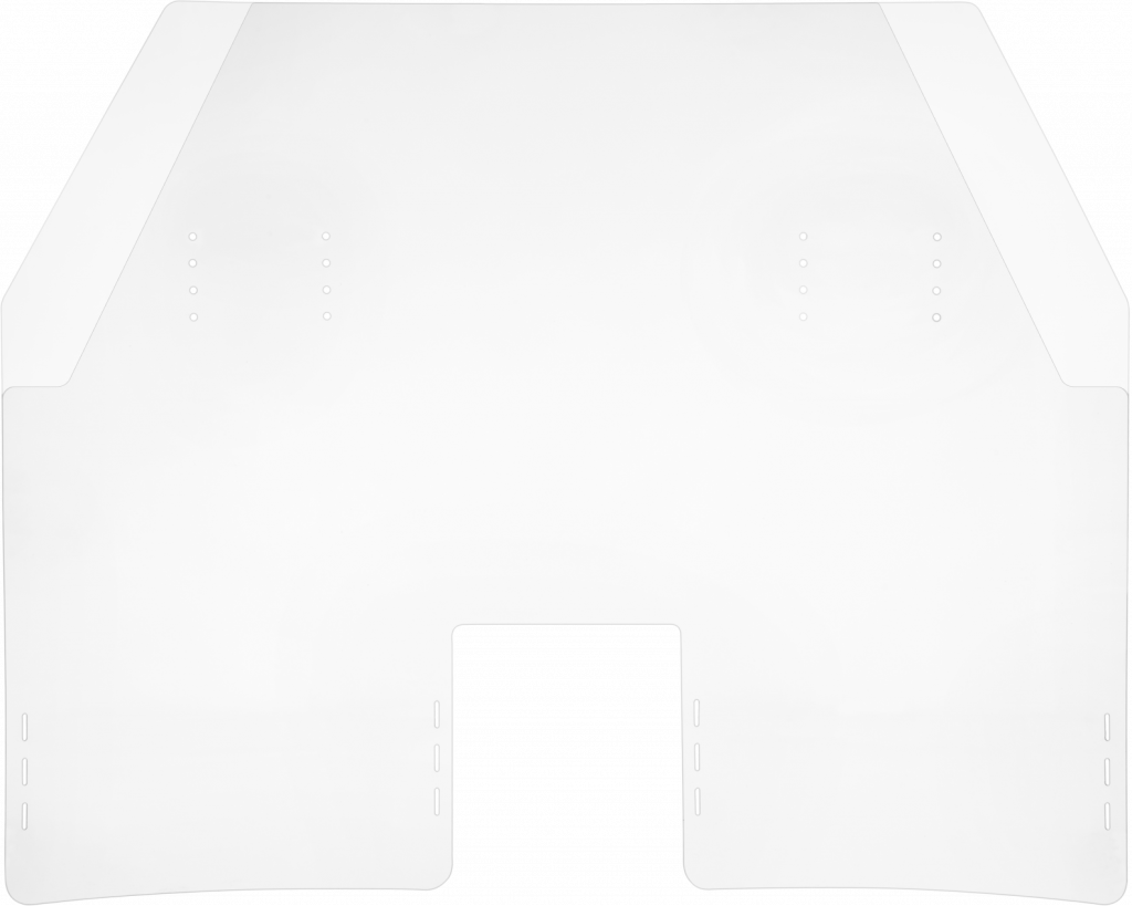 TFL Approved Shield from the front