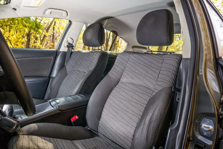 TFL Approved Partition Screen - from the driver seat